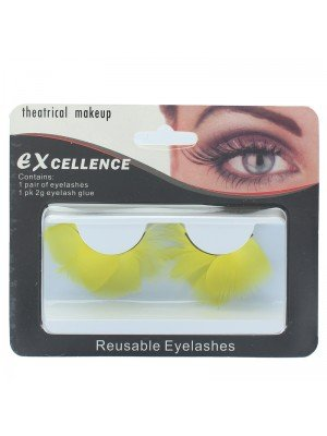 Excellence Reusable Eyelashes- Yellow