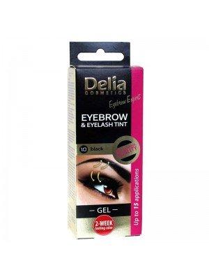 Wholesale Delia Eyebrow and Eyelash Tint Gel 1.0 Black