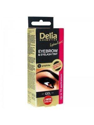 Wholesale Delia Eyebrow and Eyelash Tint Gel 1.1 Graphite