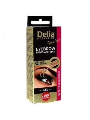 Wholesale Delia Eyebrow and Eyelash Tint Gel 3.0 Dark Brown