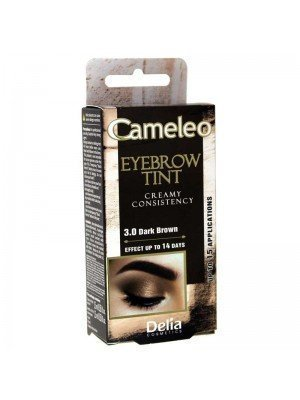 Wholesale Delia Cameleo Cream Eyebrow Henna Tint - 3.0 Dark Brown