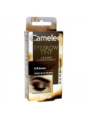 Wholesale Delia Cameleo Cream Eyebrow Henna Tint - 4.0 Brown