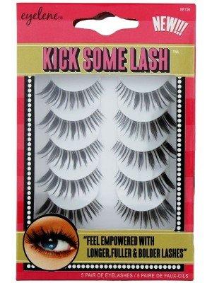Wholesale Eyelene Kick Some Lash 5 Pairs Eye Lashes - Auvianna