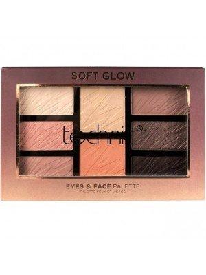 Wholesale Technic Eyes & Face Palette - Soft Glow