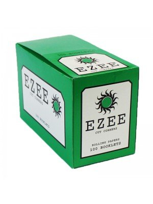 Ezee Standard Rolling Papers - Green 100 booklets
