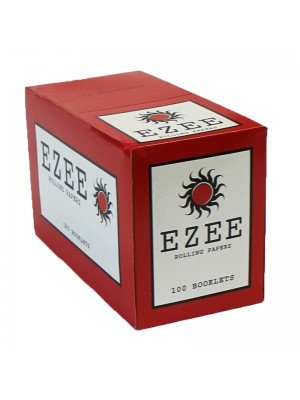 Ezee Standard Rolling Papers - Red 100 booklets