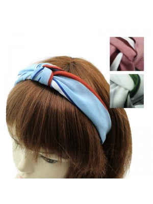 Striped Headband - Assorted Colours - Pack of 3