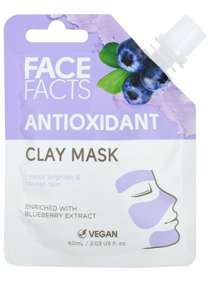 Wholesale Face Facts Antioxidant Clay Mask - 60ml
