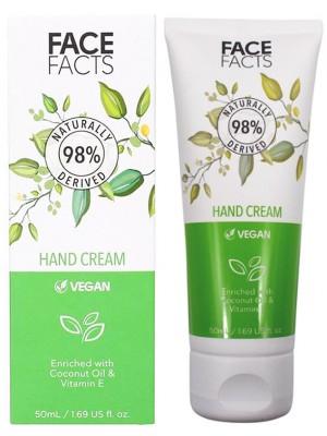 Wholesale Face Facts Hand Cream With Coconut Oil & Vitamin E - 50ml