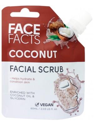 Face Facts Vegan Facial Scrub - Coconut