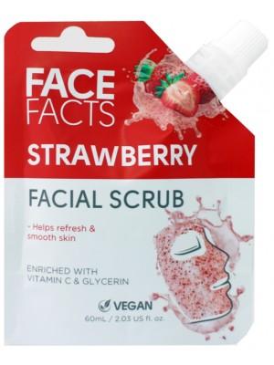 Face Facts Vegan Facial Scrub - Strawberry