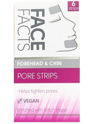Face Facts Vegan Forehead & Chin Pore Strips