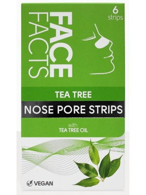 Face Facts Vegan Tea Tree Nose Pore Strips