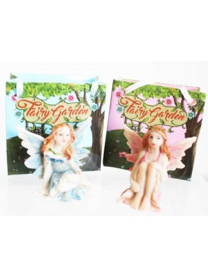 Wholesale Fairy Garden Fairy In Mini Gift Bags - Assorted
