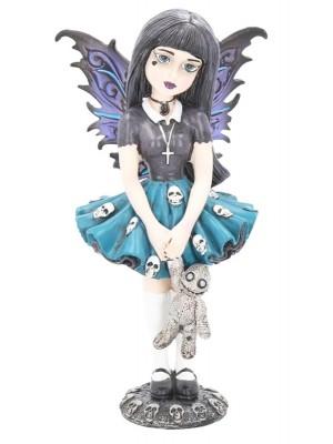 Fairy Gothic Figurine Noire - 14cm