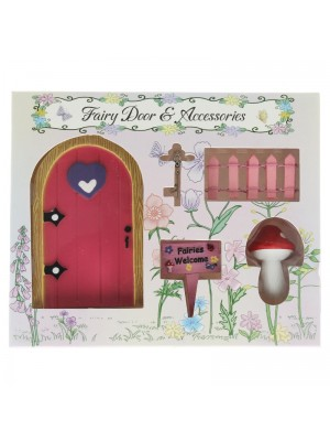Fairy Dwelling Set (Door & Accessories)