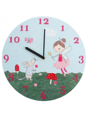 Fairy & Mouse Wall Clock
