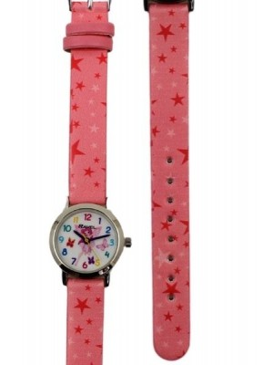 Ravel Girls Fairy Design Watch-Pink