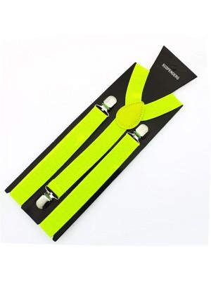 Fashion Braces - Neon Yellow 25mm