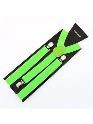 Fashion Braces - Neon Green (25mm)