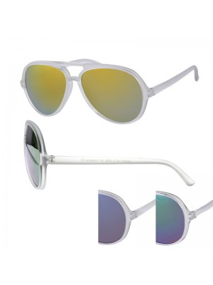 Wholesale Unisex Fashion Sunglasses - Grey Frame (Assorted Colours)