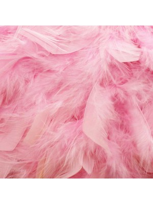 Wholesale Feather Boas Light Pink Deluxe 200cm Long