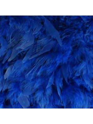 Feather Boas Navy Blue Deluxe 200cm Long