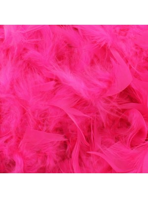 Feather Boas Neon Pink Deluxe 200cm Long