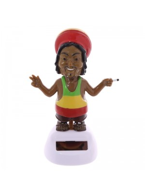 Wholesale Rasta Novelty Solar Pal Figurine
