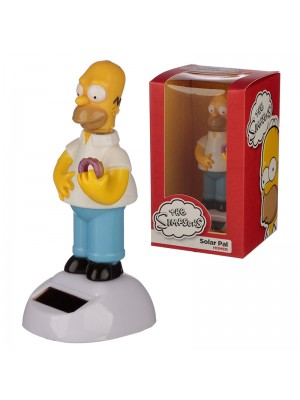 Wholesale Homer Simpson Solar Pal Figurine - Licensed Design