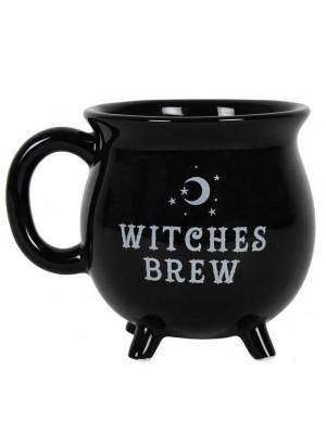 Black Cauldron Bone China Mug