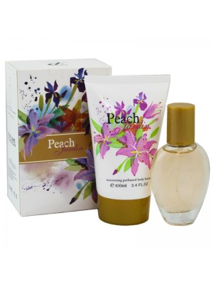 Wholesale Fine Perfumery 2 Piece Ladies Gift Set - Peach Jardin