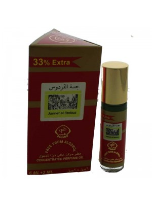 Wholesale Jannet El Firdaus Concentrated Perfume Oil-6ml+2ml(33%extra)