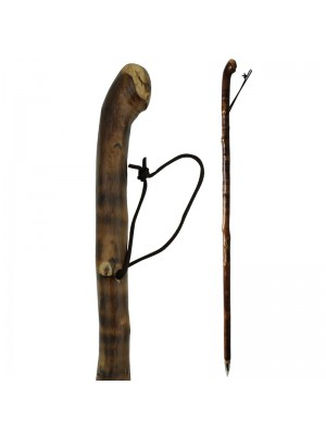 Flamed Straight Walking/Hiking Stick