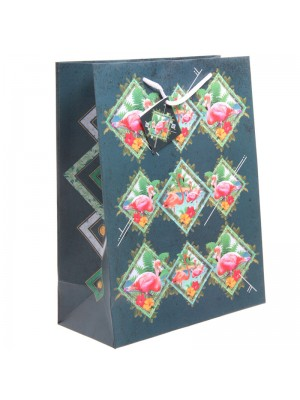 Flamingo Gift Bag - Large (26x33x12cm)