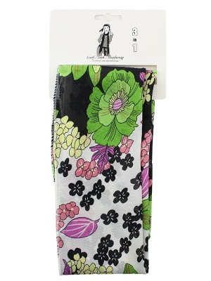 Multi-Functional 3 in 1 Scarf/Sash/Headwrap - Floral Print