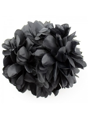 Flowers with Clamp - BLACK