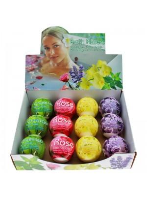 Bath Bomb Fizzers - Assorted Flower Fragrances