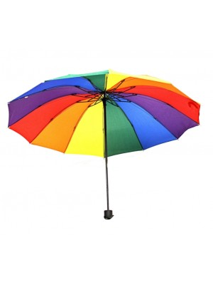 Foldable Compact Rainbow Umbrella