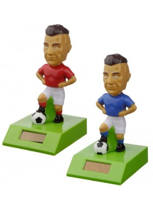 Footballer Solar Pal - 10cm (Assorted Colours)