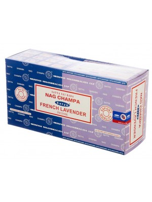 Wholesale Satya incense sticks - Nag Champa & French Lavender