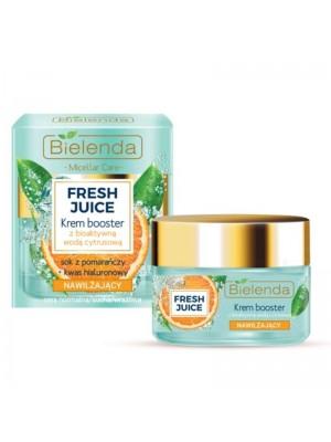 Wholesale Bielenda Fresh Juice Moisturizing Face Cream Boosster with Bioactive Citrus Water - Orange 50ml
