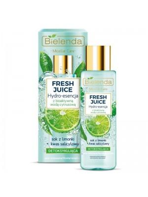 Wholesale Bielenda Detoxifying hydro-essence - Lime + Salicylic Acid For For Face 110ml