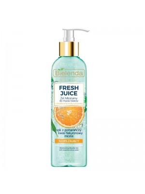 Wholesale Bielenda Moisturizing Micellar Gel For Face - Orange 190g