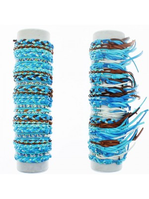 Friendship Bracelet On The Roll Assorted Blue