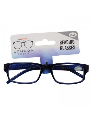 Wholesale Plastic Frame Reading Glasses - Assorted Colours & Strengths
