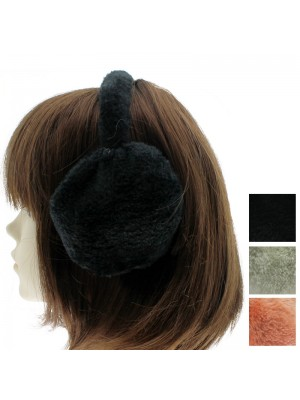 Furry Ear Muffs - Assorted Colours and designs