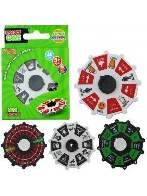 Wholesale Roulette Spin Dice Game Wheel Fidget Spinner - Assorted