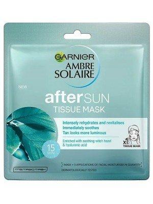 Garnier Ambre Solaire After Sun Cooling Tissue Face Sheet Mask