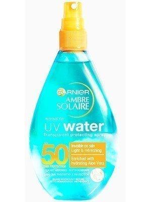Garnier Ambre Solaire UV Water Transparent Protecting Spray spf50 - 150ml
